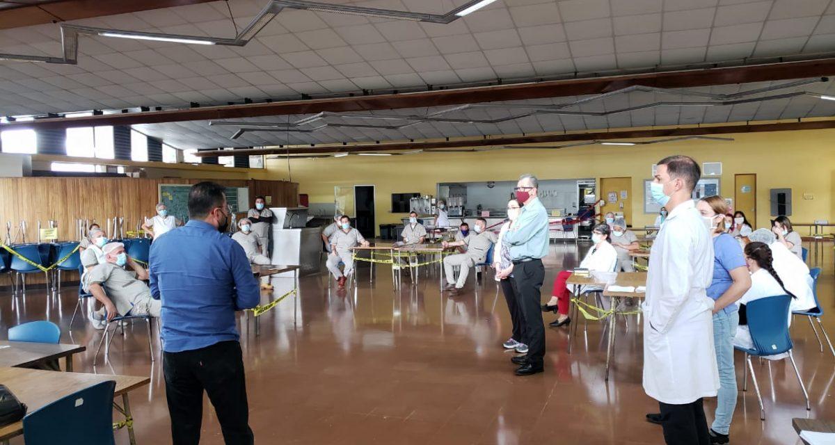 SINAE AFINES RESPALDA A FUNCIONARIOS Y  LOGRA ACUERDO EN HOSPITAL PSIQUIÁTRICO